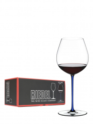 Riedel Glass Fatto A Mano Old World Pinot Noir Dark Blue 4900/07D