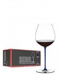 Riedel Glass Fatto A Mano Old World Pinot Noir Dark Blue 4900/07D