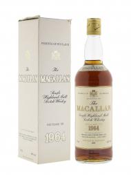 Macallan 1964 18 Year Old Sherry Oak (bottled 1981) w/box