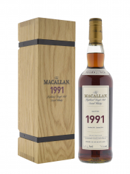 Macallan 1991 25 Year Old Fine & Rare Single Malt Cask 7021 (bottled 2016) 700ml