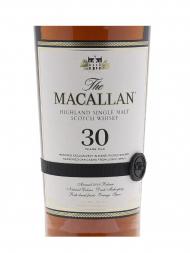 Macallan  30 Year Old Sherry Oak Annual Release 2018 Single Malt w/Wooden Box 700ml