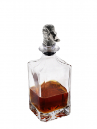 Regent Whisky Decanter Duck Head Stopper
