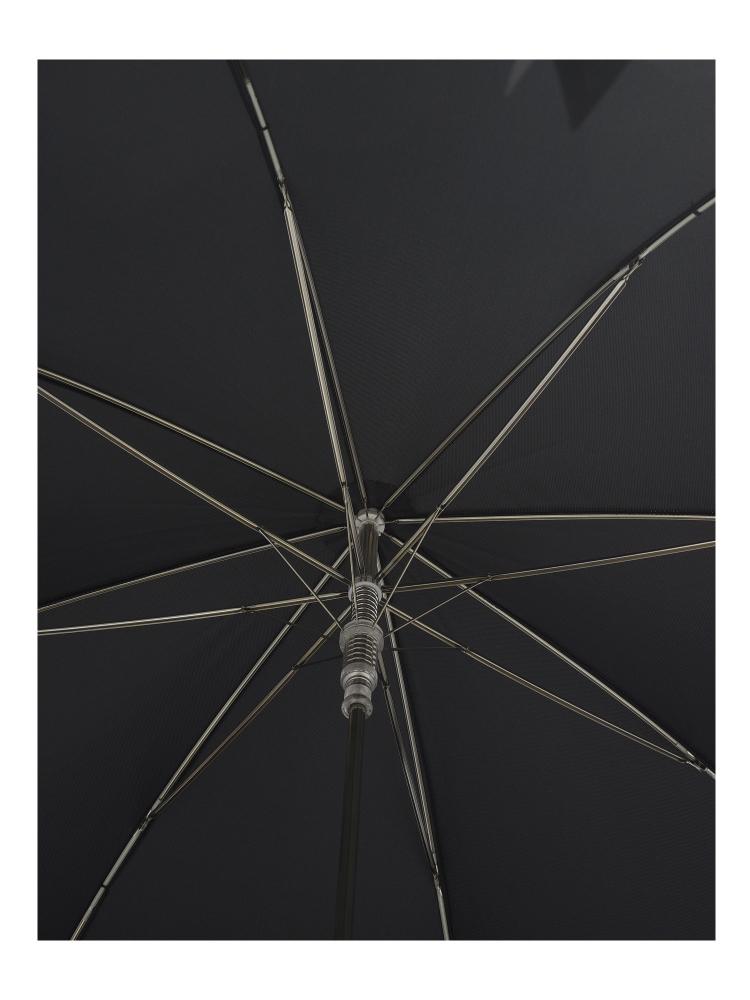 Pasotti Umbrella UAW81 Monkey Handle Black Oxford