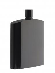 Philippi Hip Flask 181022 Henrys Black Stainless Steel 6oz