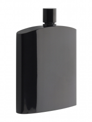 Philippi Hip Flask 181023 Henrys Black Stainless Steel  7oz