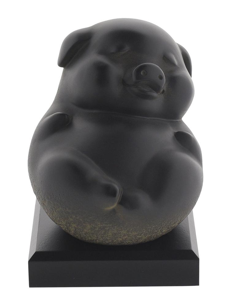 Tai Hwa Sculpture Piggy Happy