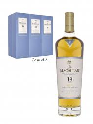 Macallan  18 Year Old Triple Cask Matured Annual Release 2018 Single Malt Whisky 700ml - 6bots