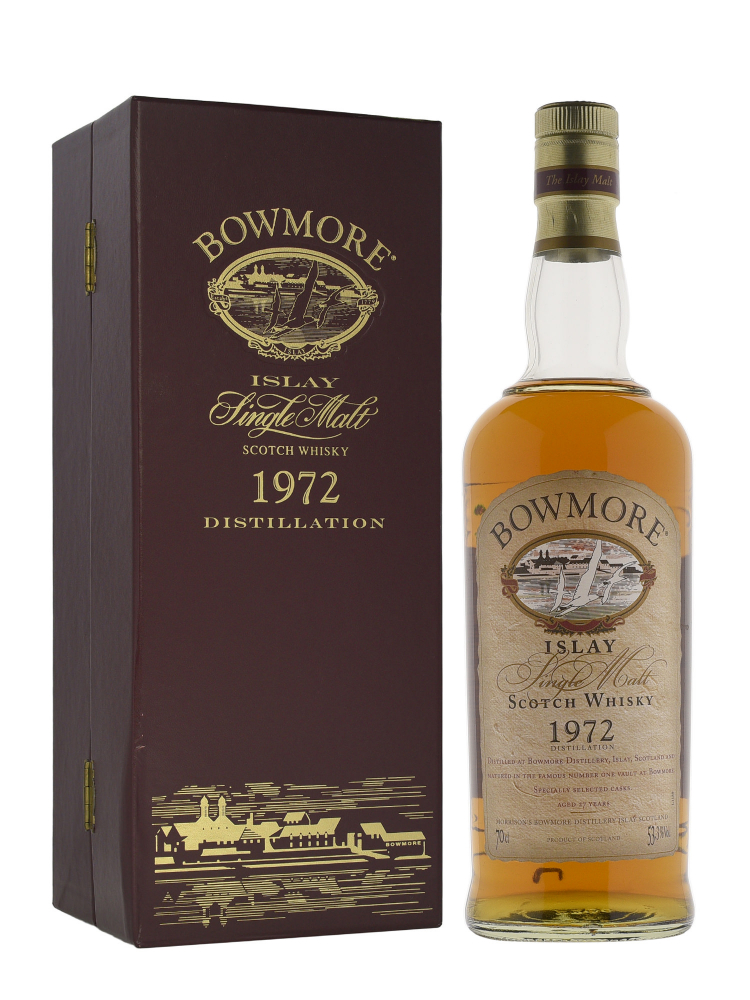 Bowmore 1972 27 Year Old Single Malt Scotch Whisky 700ml