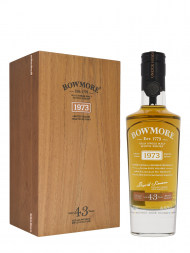 Bowmore 1973 43 Year Old (bottled 2016) Single Malt Scotch Whisky 700ml