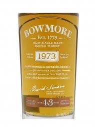 Bowmore 1973 43 Year Old (bottled 2016) Single Malt Scotch Whisky 700ml