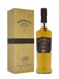 Bowmore 1981 28 Year Old (bottled 2010) Single Malt Scotch Whisky 700ml