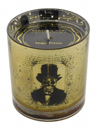 Modern Alchemy Candle 9134 Halloween Tumbler Man With Hat Amber