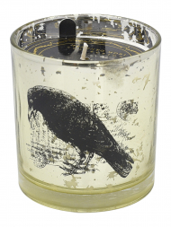 Modern Alchemy Candle 9136 Halloween Tumbler Bird Gold