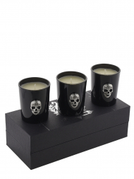 Modern Alchemy Candle Set 1027H-MA Memento Mori Crystal Skull Votives Gift Set of 3