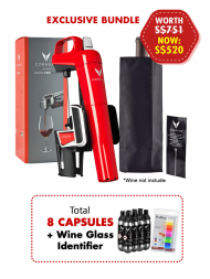 Coravin Model Two Elite Red w/8 Capsules