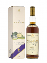 Macallan 1977 18 Year Old Sherry Oak (Bottled 1995) w/box