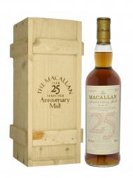 Macallan 1970 25 Year Old Anniversary Malt (bottled 1996) w/wooden box 700ml