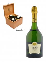 Taittinger Comtes de Champagne Blanc de Blancs 2004 (Case of 6)