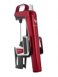 Coravin Gift Pack Model Two Elite Candy Apple Red w/6 Capsules