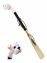 Pasotti Shoehorn White Boxer Gold K22
