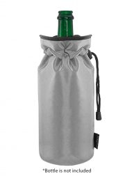Pulltex Champagne Cooler Bag Silver 109616