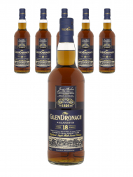 Glendronach 18 Year Old Allardice Single Malt Scotch Whisky 700ml - 6bots