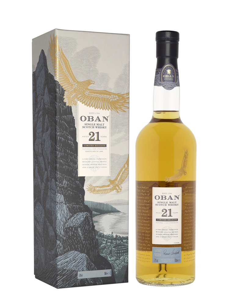 Oban 1996 21 Year Old Limited Release 2018 Single Malt 700ml