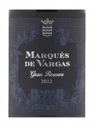 Marques de Vargas Gran Reserva 2012 - 6bots