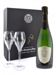 佛尔尼酒庄香槟酒杯礼盒 - 白中白一级园 无年份