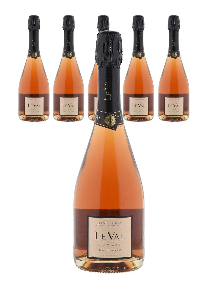 Le Val Sparkling Pinot Noir NV - 6bots