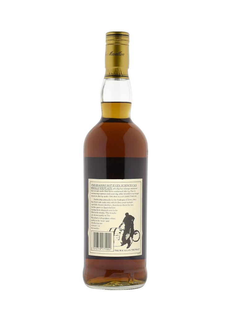 Macallan 1972 18 Year Old Sherry Oak (Bottled 1990) w/box