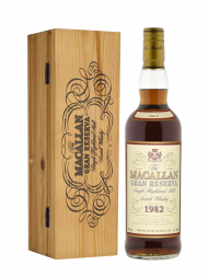 Macallan 1982 20 Year Old Gran Reserva (Bottled 2002) w/wooden box 700ml