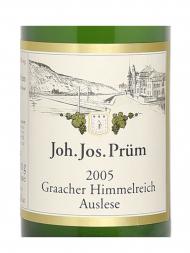 Joh Jos Prum Graacher Himmelreich Riesling Auslese Goldkapsel 2005