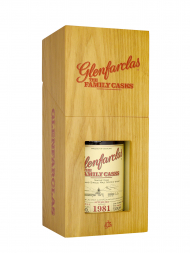 Glenfarclas Family Cask 1981 Cask 1603 A14 Plain Butt Single Malt w/box 700ml