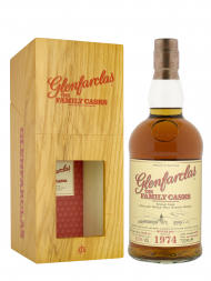 Glenfarclas Family Cask 1974 Cask 6049 W15 4th Fill Hogshead Single Malt w/box 700ml