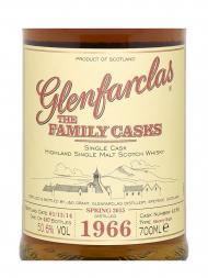 Glenfarclas Family Cask 1966 Cask 4198 SP15 Sherry Butt Single Malt w/box 700ml