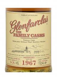 Glenfarclas Family Cask 1967 Cask 6356 W15 Sherry Butt Single Malt w/box 700ml