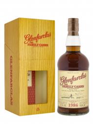 Glenfarclas Family Cask 1986 Cask 3456 A14 Refill Sherry Butt Single Malt w/box 700ml