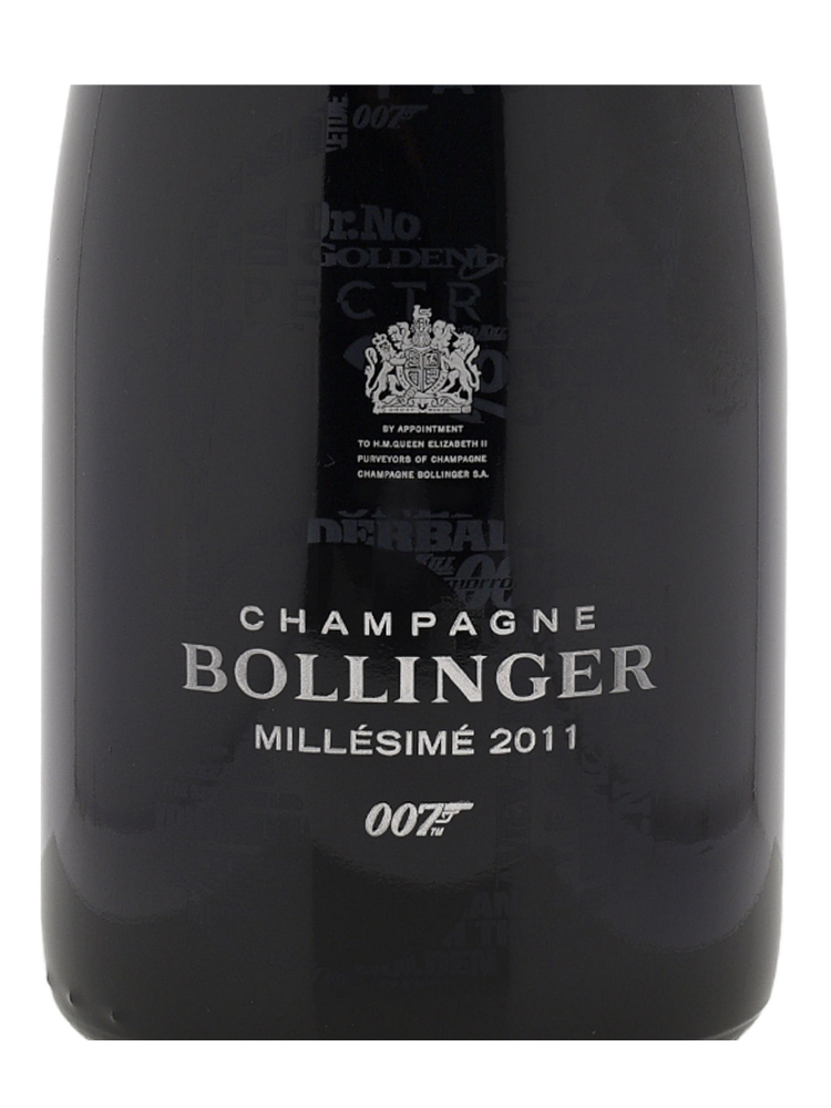 Bollinger Bond 007 No Time to Die Limited Edition 2011 1500ml