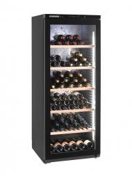 Liebherr-Barrique WKGB 4113 168bots Free Standing, Black, Full Glass Door, Single Temp