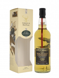 Macallan Speymalt 1988 20 Year Old Gordon & MacPhail (Bottled 2008) w/box 700ml