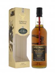 Macallan Speymalt 1977 23 Year Old Gordon & MacPhail (Bottled 2000) w/box 700ml