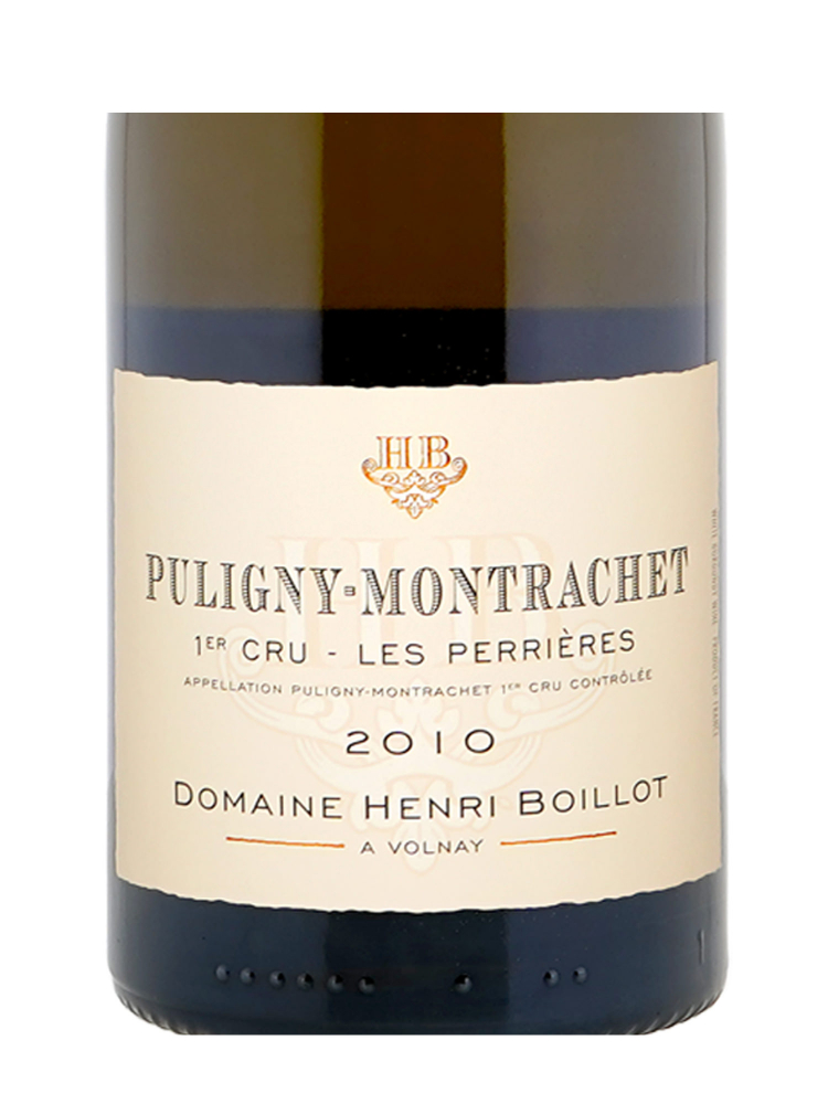 Henri Boillot Puligny Montrachet les Perrieres 1er Cru 2010