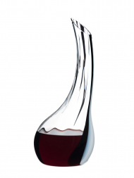 Riedel Decanter Cornetto Single Fatto A Mano Black/White Optical 1977/00