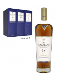 Macallan  18 Year Old Double Cask Annual Release 2020 700ml - 6bots