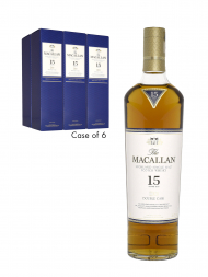 Macallan  15 Year Old Double Cask 700ml - 6bots