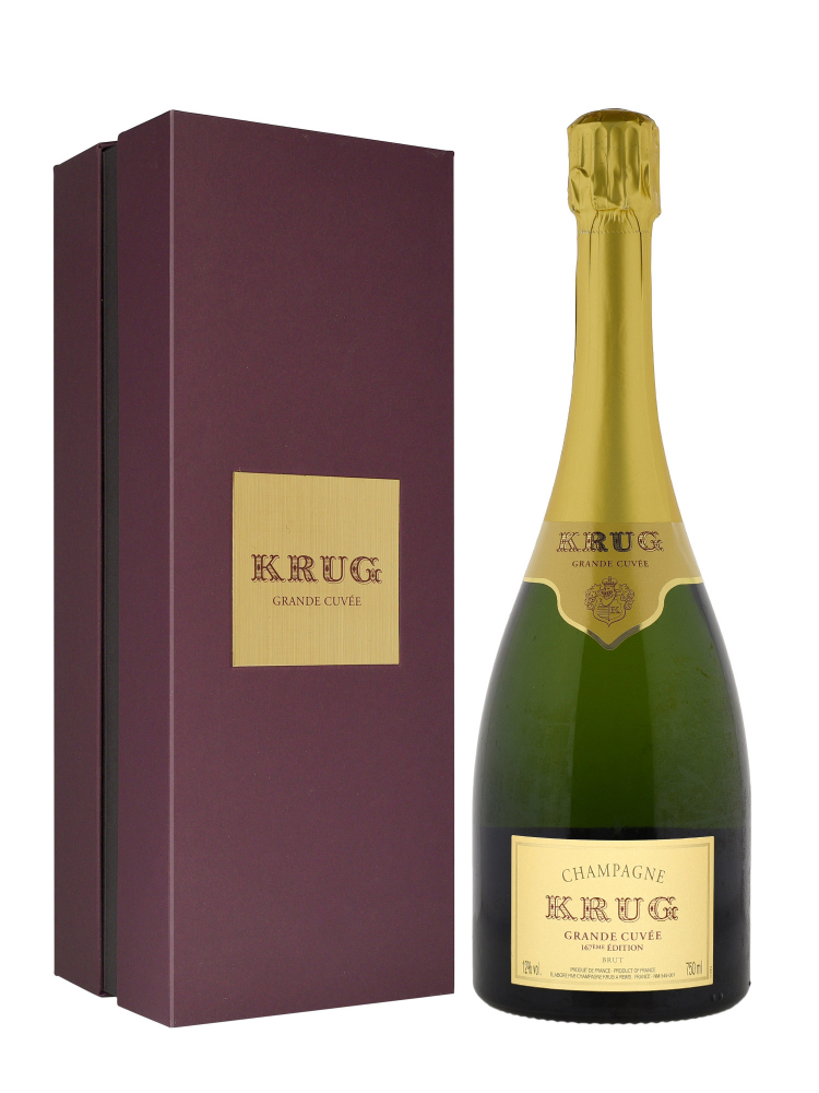 Krug Grand Cuvee 167eme Edition NV w/box