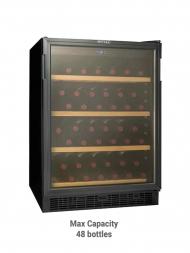 Vintec Classic V50SGE Glass Door 50bots