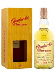 Glenfarclas Family Cask 1981 36 Year Old Cask 1606 W17 4th Fill Butt Single Malt w/box 700ml