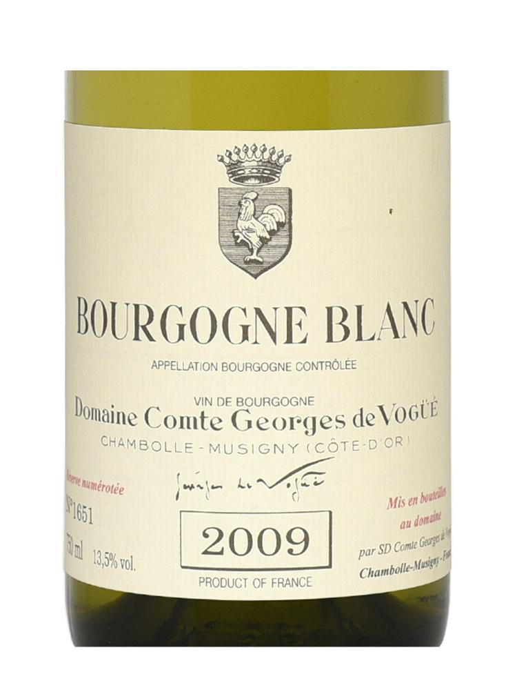 Comte Georges de Vogue Bourgogne Blanc 2009 ex-do